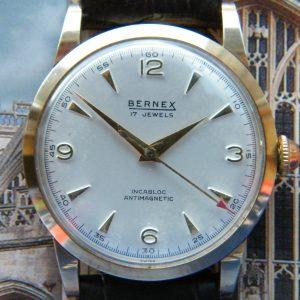 1960's 9kt. GOLD CASED 'BERNEX'